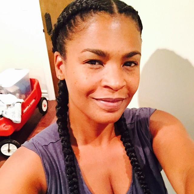Nia Long Braids by @jahmonit - Love Them - http://community.blackhairinformation.com/hairstyle-gallery/celebrities/nia-long-braids-jahmonit-love/ #braidsandtwists