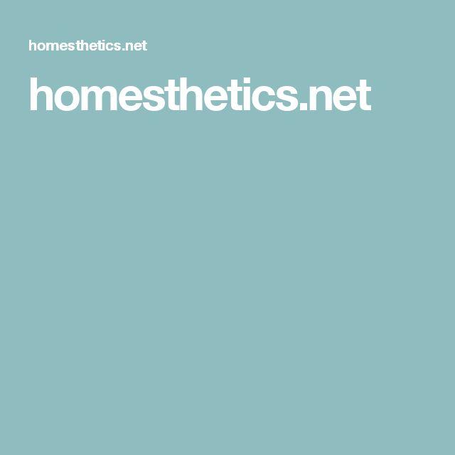 homesthetics.net