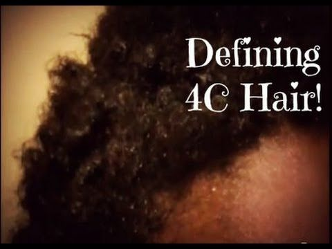 Episode 7 Quickly Defining My Twa Curls For Quot 4c Hair