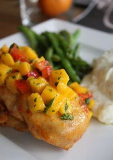 Fun and Easy Baking: Mango Chicken