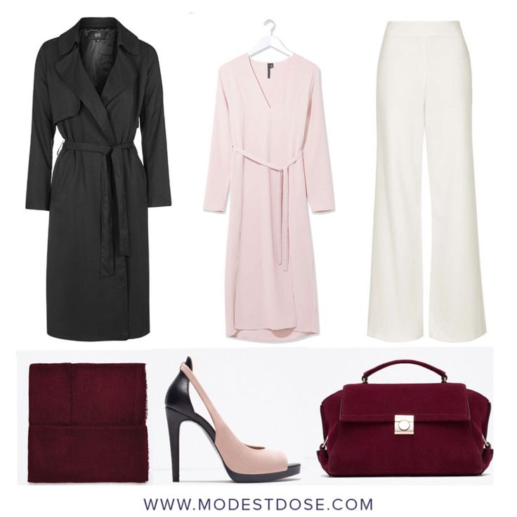 Our #OOTD! Keeping it fresh, minimalist and contemporary! Mac/dress/trousers all @topshop. Accessories all from @zara.