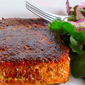A blackened sockeye salmon meal is a great option for a mid-week dinner for your family or when you are entertaining several guests. Our recipe is healthy and easy to prepare.