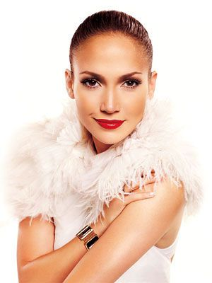 Beautiful - Jennifer Lopez in white