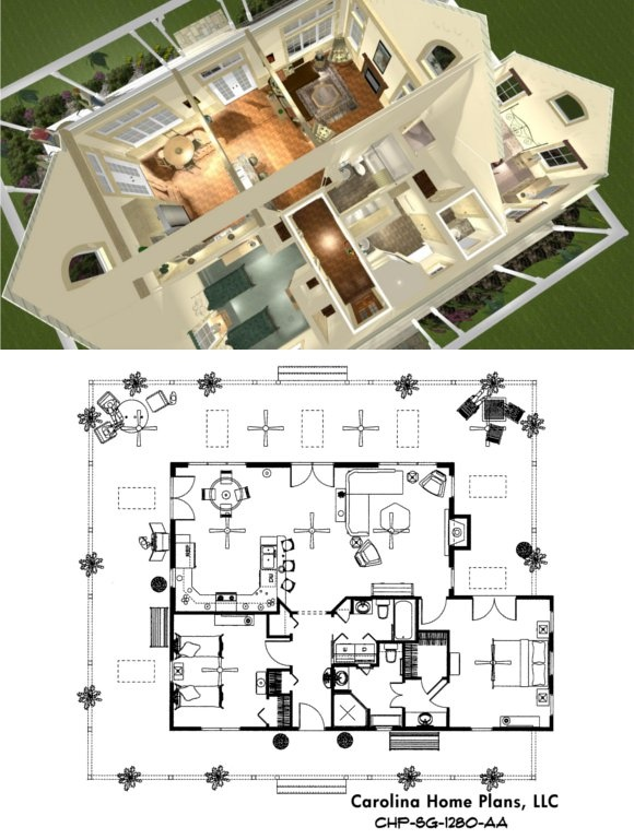 950be78a5593e297e1f65c458e5bb10a small cottage house plans small cottages 42 best images about house plans in 3d on pinterest,House Plans Llc