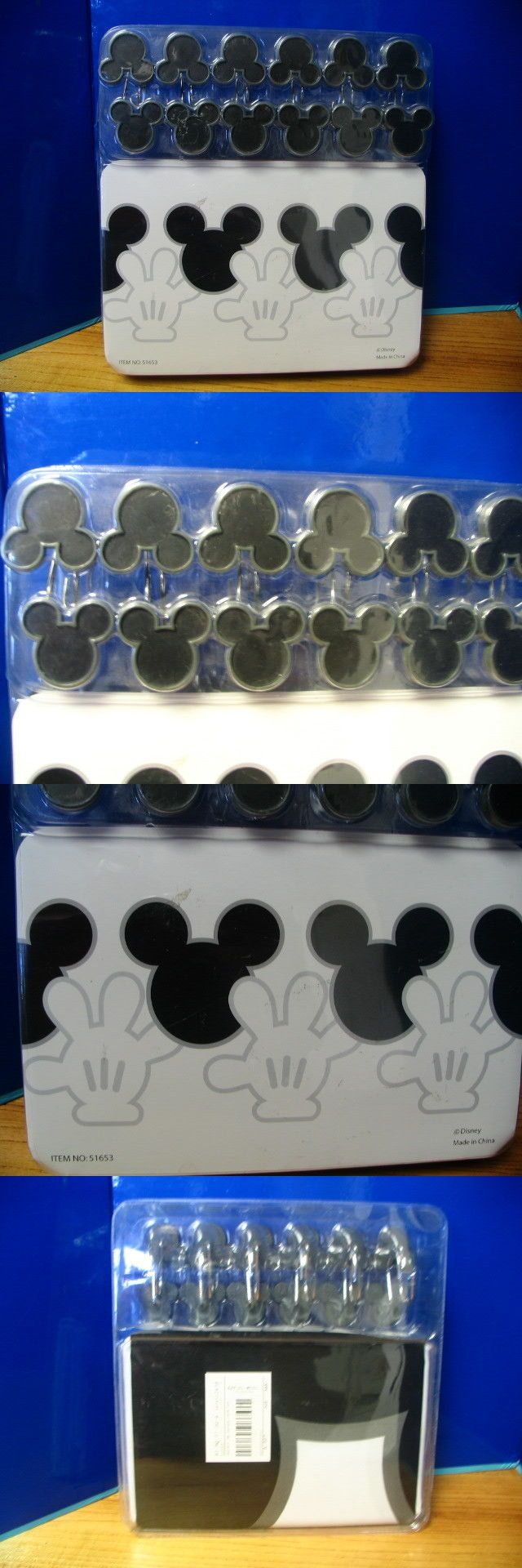 Shower Curtains 20441: Disney Store Mickey Mouse Shower Curtain And Hooks New In Package -> BUY IT NOW ONLY: $125 on eBay!