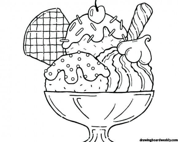 Ice Cream Coloring Pages Coloring Pages Ice Cream Coloring Pages Ice Cream Sundae