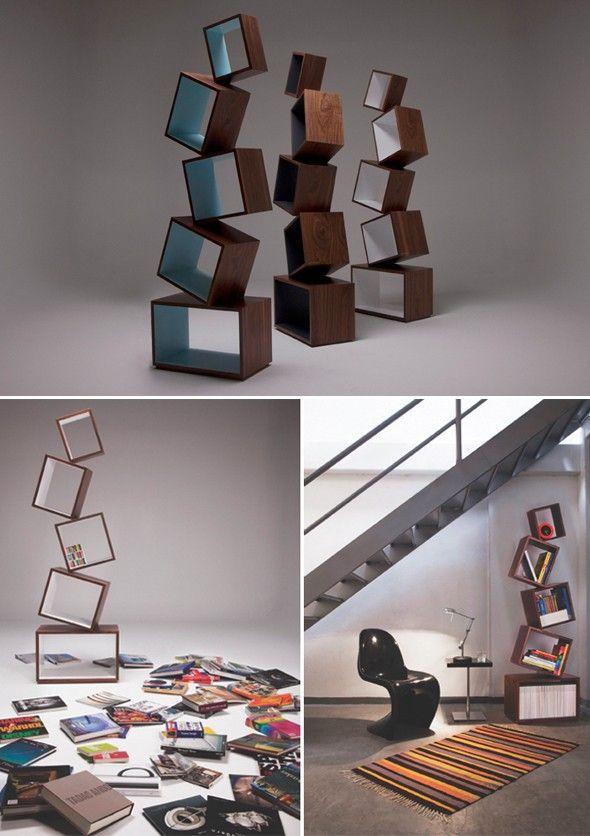 Design biblioth que en quilibre par malagana design for Architecture equilibre