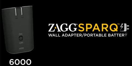 The Solution for Battery Problem While On-Go, ZAGG ZAGGsparq 6000!