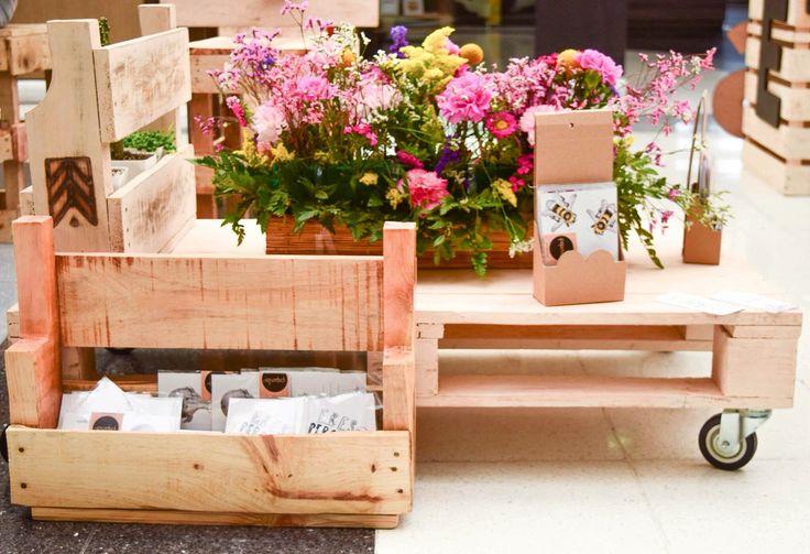 #FeriadeBodas mobiliarios a partir de estibas (palets) recicladas