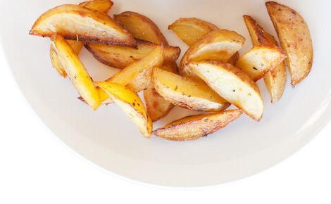 SIDE:  Epicure's Rosemary Garlic Oven Fries (190 cals/serving)