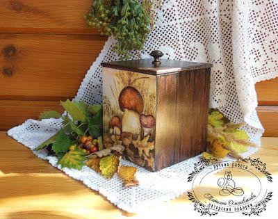 "C.h.e.a.p.-art: ТЗ ""Грибная пора"". 05.09-05.10. Фантазии на тему осени и лесных даров"