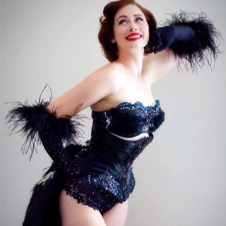 69 best burlesque showgirl costumes images on pinterest diy burlesque feather bustle in your skin burlesque is the accidental stripper leda petit solutioingenieria Images