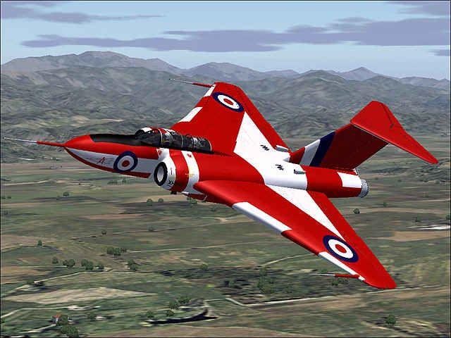 Gloster Javelin All Weather Interceptor