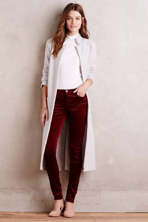 Velvet Legging Jeans by AG | Pinned by topista.com