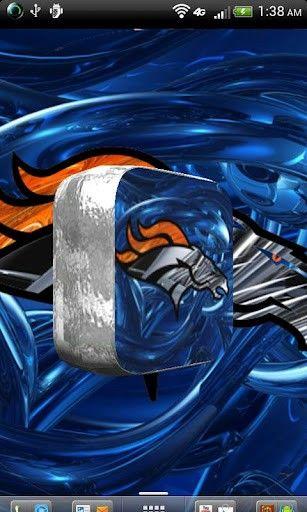 Denver Bronco Wallpapers 3D | Denver Broncos Logo Grass...