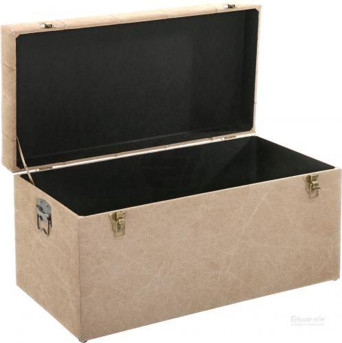 Скриня-пуф Teddy 35х35х38 см пісок - фото 17