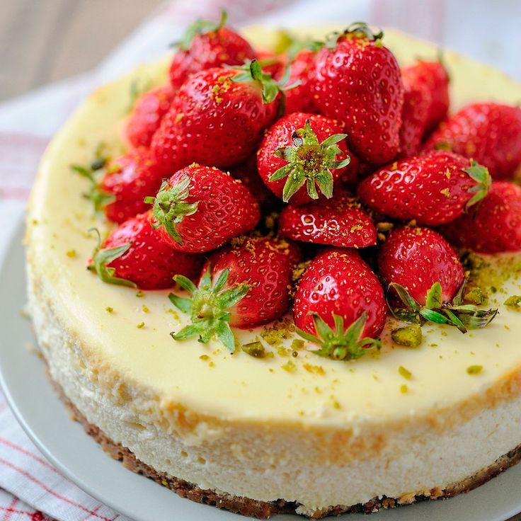 Découvrez la recette Cheesecake délicieux sur cuisineactuelle.fr.