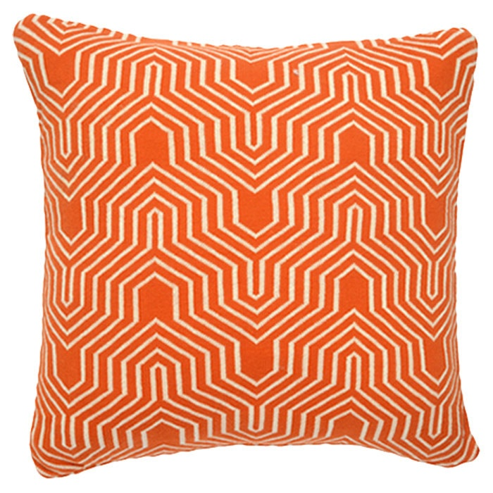 Akaar Pillow in Burnt Orange
