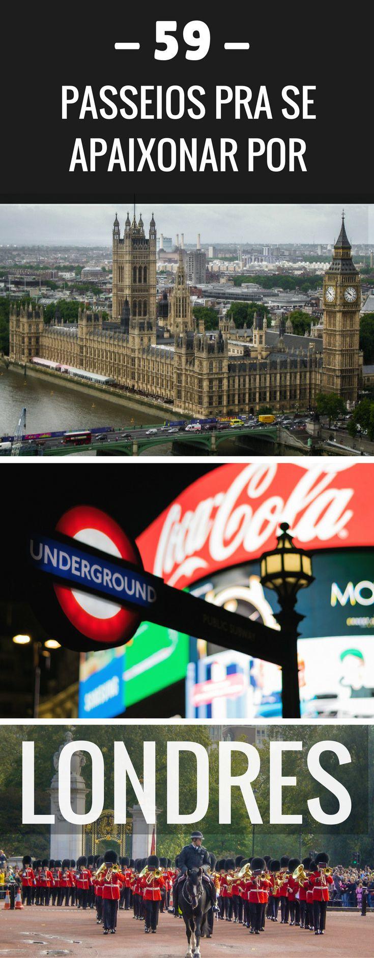 Vai viajar pra Londres? Não perca essa seleção de passeios incríveis - muitos gratuitos! -  pra fazer por lá!