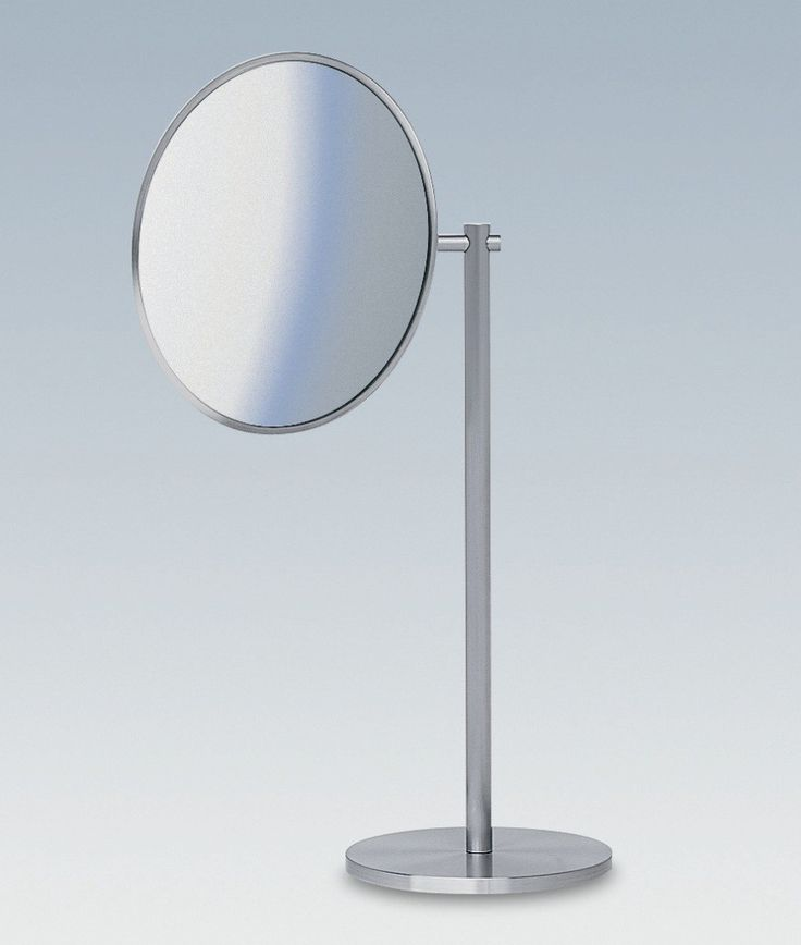 Photo Gallery In Website Picturesque high end modern luxurious designer free standing bathroom magnifying mirror with twistable mirror face
