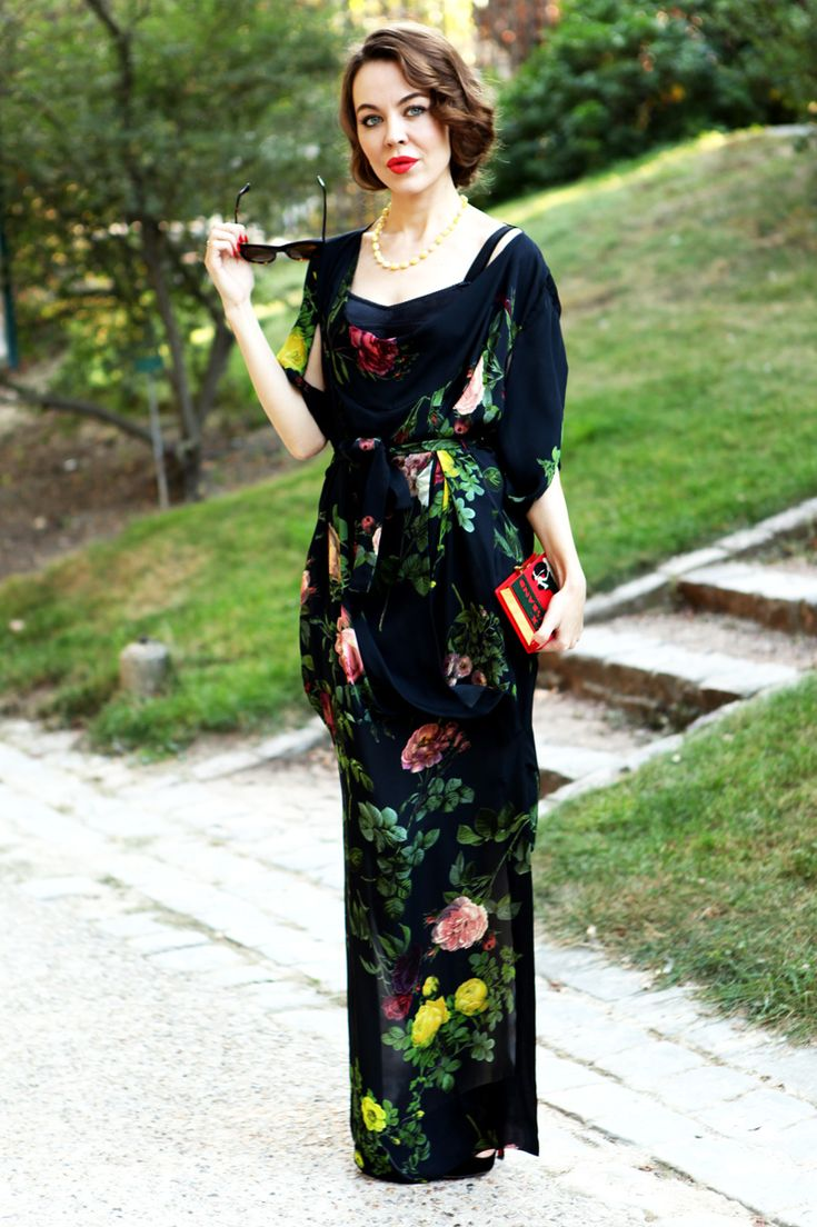 If there were one wardrobe that I would covet more than any other, it would be that of Russian designer Ulyana Sergeenko...