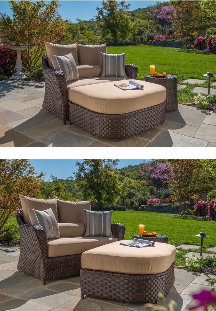 San Marino Patio Furniture: For Those Times You Feel Like Stretching Out Alone Or