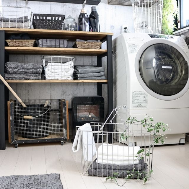 yupinokoさんの、バス/トイレ,IKEA,無印,DIY,サニタリー,タオル収納,ステンレス,見せる収納,DIY家具,ワイヤーバスケット,ランドリーバスケット,男前,セルフリノベーション,楽天で買ったもの,アメブロやってます♡,インスタやってます♡,足立製作所,のお部屋写真