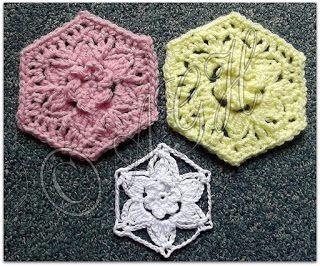 AG Handmades: Star Flower Motif