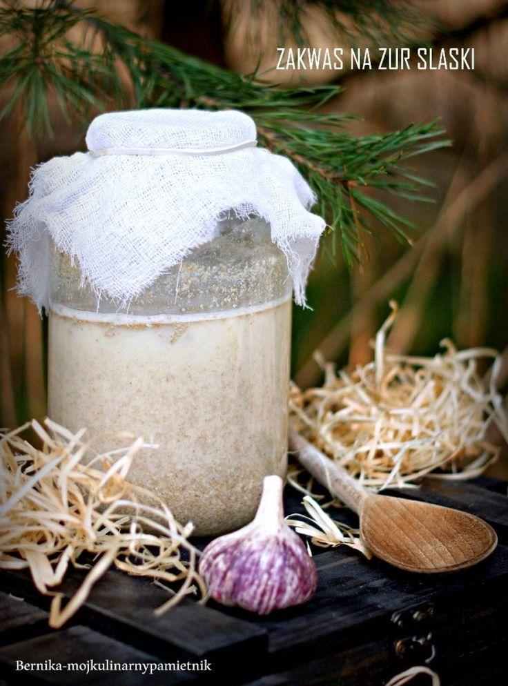 Bernika - mój kulinarny pamiętnik: Zakwas na śląski żur
