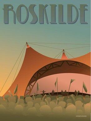 ViSSEVASSE ROSKILDE Festival Plakat