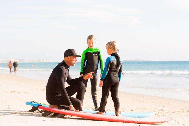 Surfing class for kids, Tarifa | Lekce surfování pro děti, Tarifa