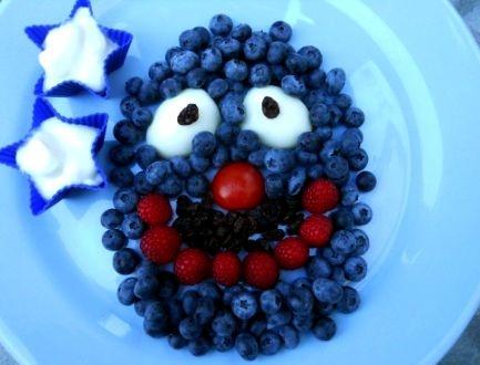 Sesame Street Snack Idea