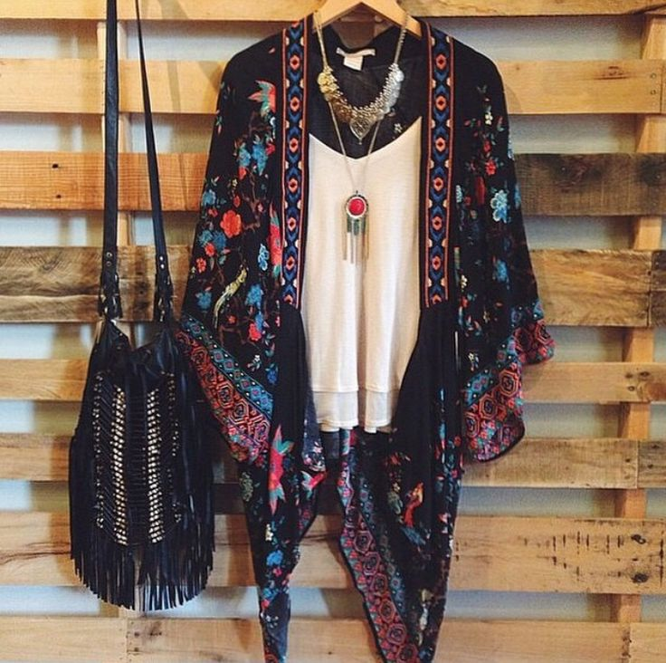 The whole look is a little busy for me.  I would wear the kimono or the jewelry or the bag - not all three. Bikinis One-Piece Tankinis Beach Cover-Ups Beach Towels Capes & Kimonos, dress, clothe, women's fashion, outfit inspiration, pretty clothes, shoes, bags and accessories