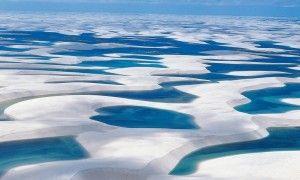 地球が創りだした神秘の大砂丘『レンソイス・マラニャンセス国立公園』@Brasil