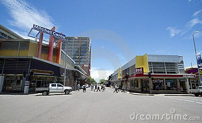 Stock Photo: Street in Darwin, Australia, capital of Northern teritory