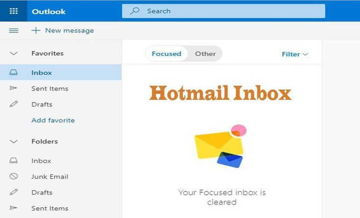 Hotmail inbox how to manage your hotmail inbox inbox