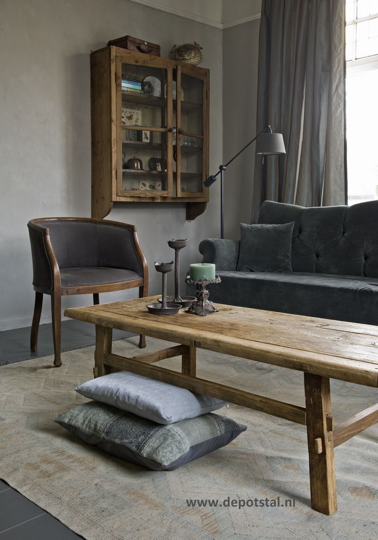 1000 images about de potstal projecten on pinterest exposed brick walls wall finishes and - Keuken met sofa ...