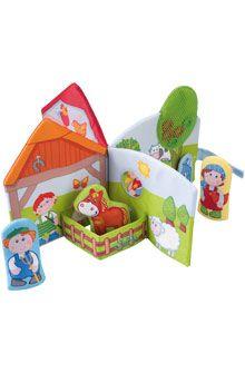 Inventori per bambini - Libro per giocare Amici della fattoria - Giochi in tessuto per neonati - Per neonati - GIOCATTOLI & MOBILI