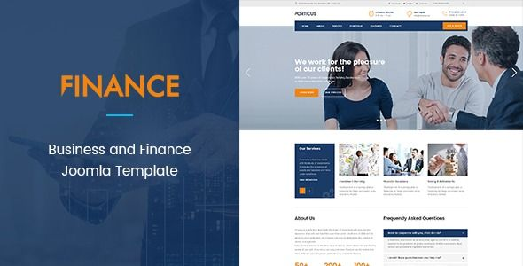 ZT Finance Responsive Business Corporate Joomla Template | Stylelib