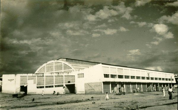 Mercado Municipal Jequie Ba 1957 Landmarks Building