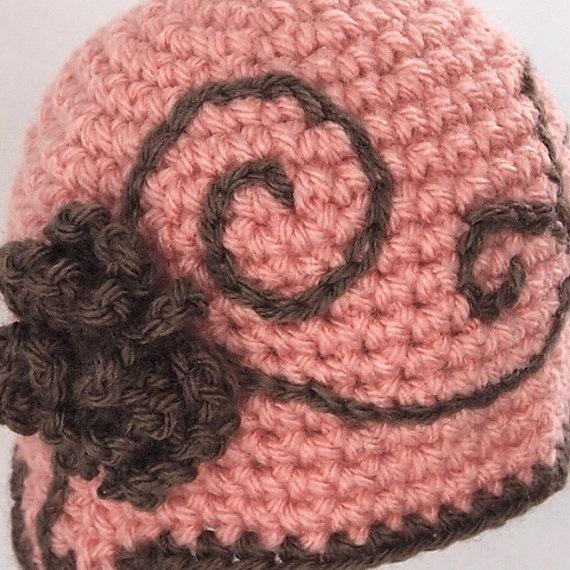 Baby Crochet Hat Newborn Beanie