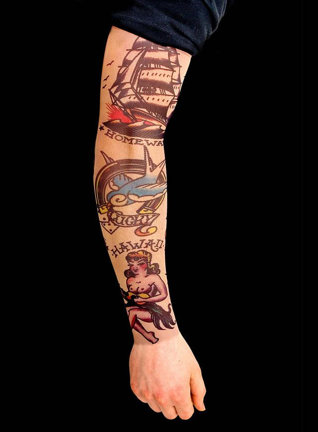 Seaman Tattoo Sleeve for Your Boat Party