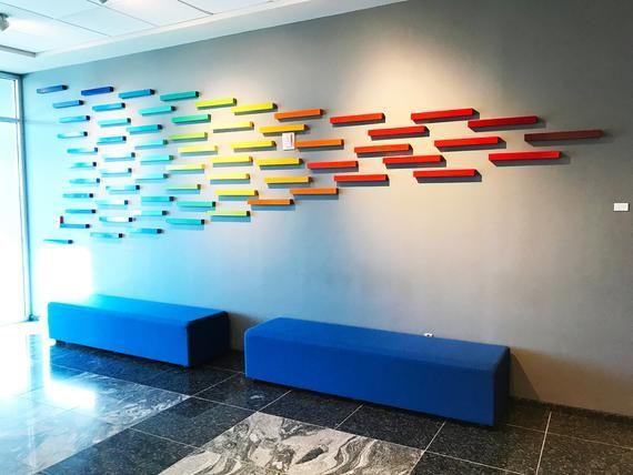 Large Wall Art Installation Commercial Art Branding Art Wall