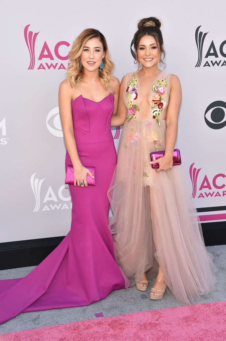 Maddie Marlow (left) and Taylor 'Tae' Dye (right) of music group Maddie & Tae attend the 52nd Academ... - John Shearer /WireImage - they are darling.