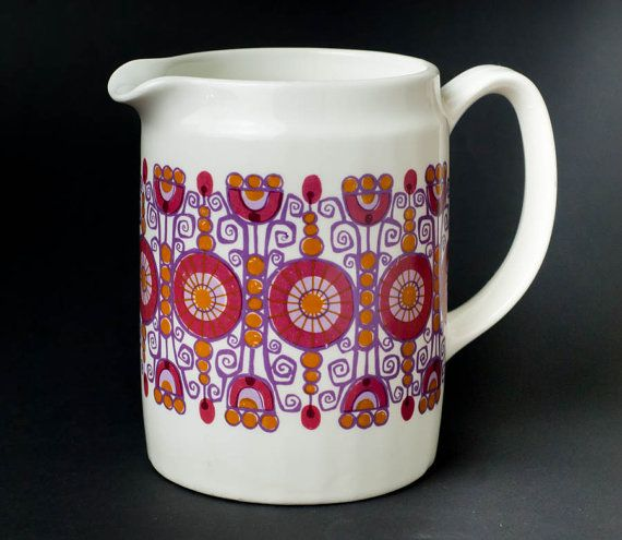 Figgjo Flint Pitcher Mug Turi Design Barcarole by Scandifinds