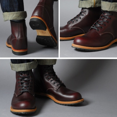Red Wing Boots -- I just got a pair for my birthday. I'm working on breaking them in!