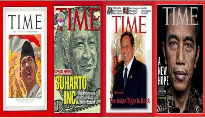 Presiden RI jadi sampul majalah TIME.