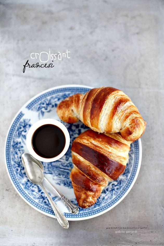 ... croissant sfogliati francesi - ricetta di Iginio Massari ...