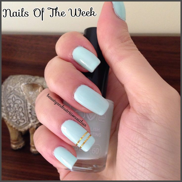 Nails Of The Week !!!Mint Nails!!!