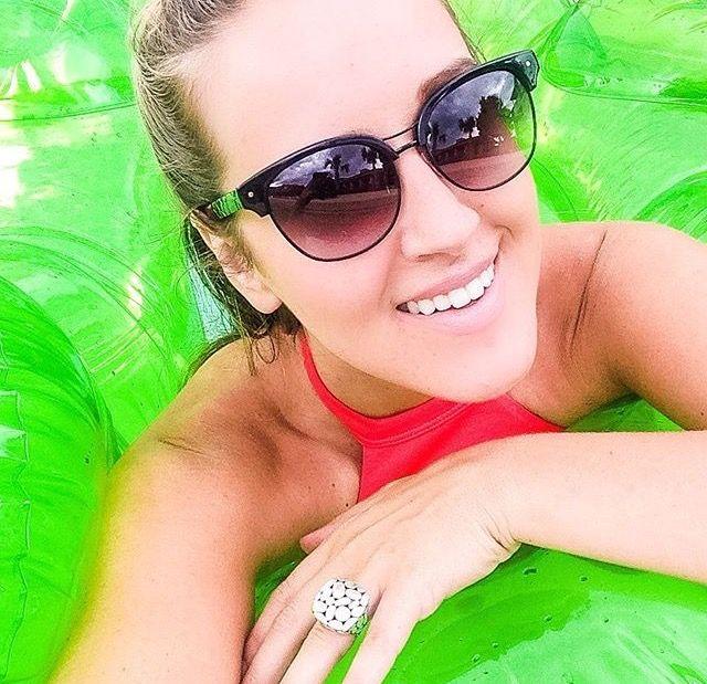 Kellin looking glamorous in the all black Treyca Sunglasses. #Treyca #Sunglasses